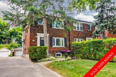 North Leaside Semi-detached for sale:  4 bedroom  (Listed 2018-06-04)
