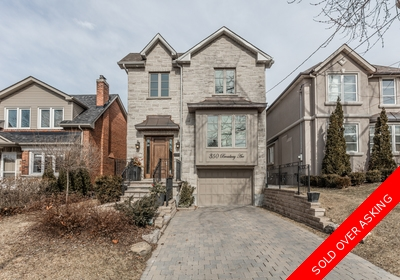 Toronto House for sale:  5 bedroom 2,500 sq.ft. (Listed 2016-03-01)