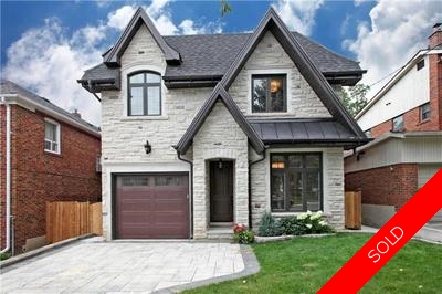 Leaside Detached for sale:  4 bedroom  (Listed 2016-08-03)
