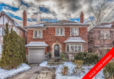 Leaside House for sale:  4 bedroom  Hardwood Floors  (Listed 2017-02-21)