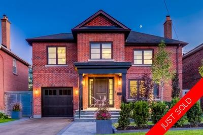 Leaside  Detached for sale:  4+2  Stainless Steel Appliances, Marble Countertop, Stainless Steel Trim, Rain Shower, Glass Shower, Marble Counters, Dark Hardwood Floors, Plush Carpet 4,500 sq.ft. (Listed 2019-10-07)