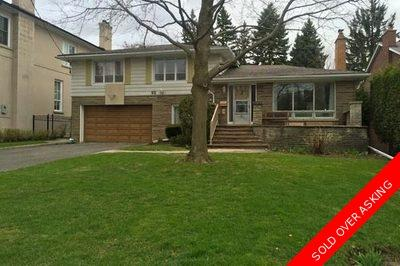 Bayview Avenue & York Mills Road Detached for sale:  4 bedroom  (Listed 2015-04-24)