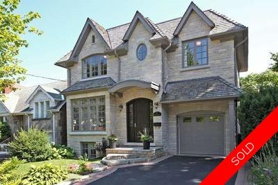 Leaside Detached for sale:  4+1